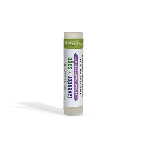 Lavender + Sage Lip Balm : Aromatherapy for Lips TM