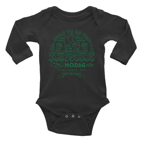 Wild Hodag Infant Long Sleeve Bodysuit