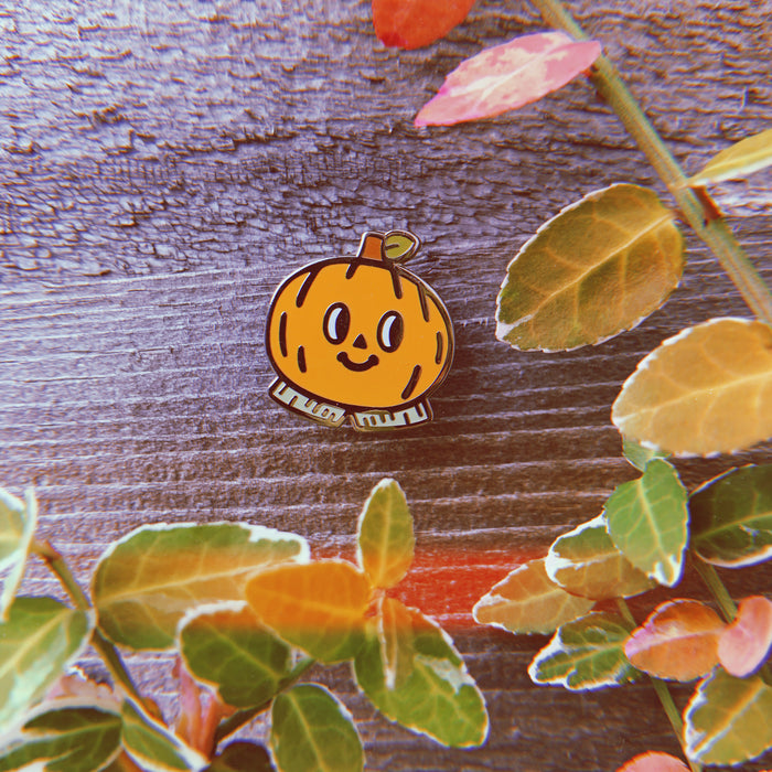 Pumpkin Boy Pin