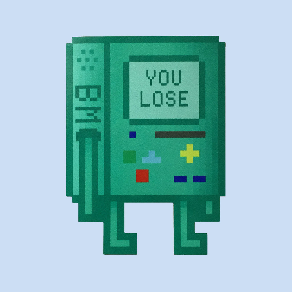 Pixel Art BMO Adventure Time Sticker