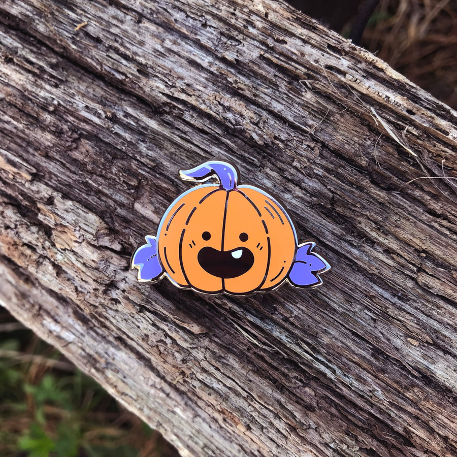 Kabocha Kun Pin: Purple