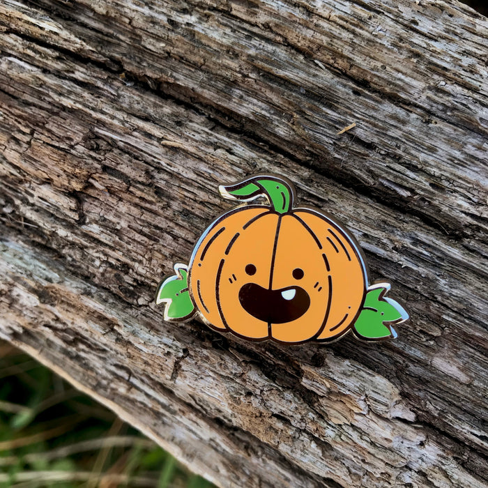 Kabocha Kun Pin: Pastel Orange