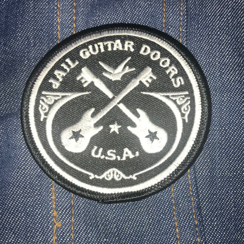 Jail Guitar Doors Iron On Patch