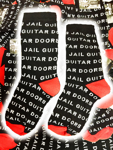 Jail Guitar Doors Socks