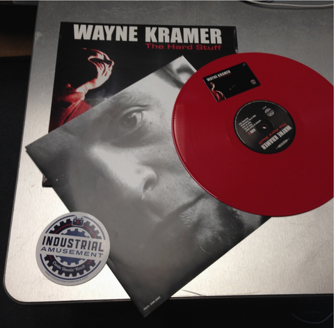 Wayne Kramer 'The Hard Stuff' Re-Issued Vinyl