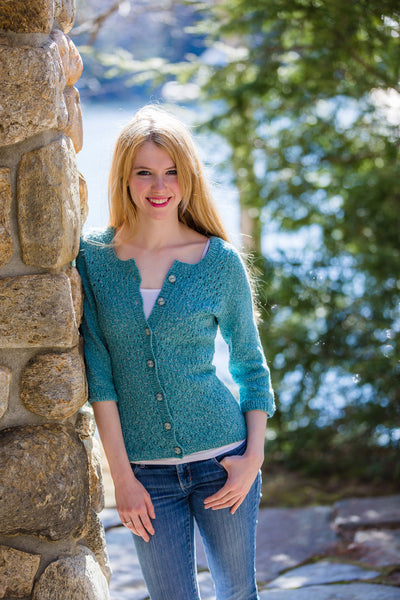 Boden Cardigan Knitting Pattern Harrisville Designs Harrisville
