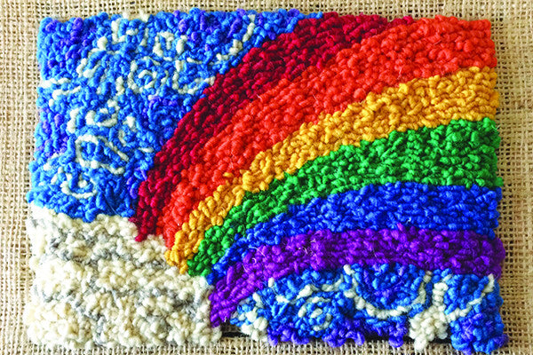 Rainbow Rug Hooking Kit Harrisville Designs Inc