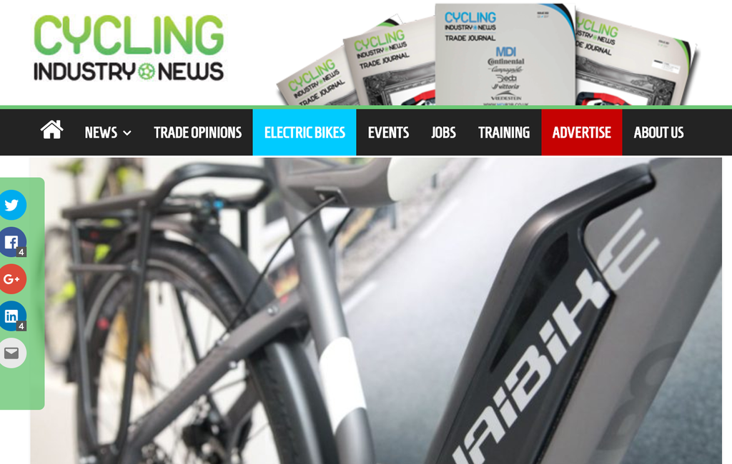 UK distributor Raleigh confident for electric bike prospects