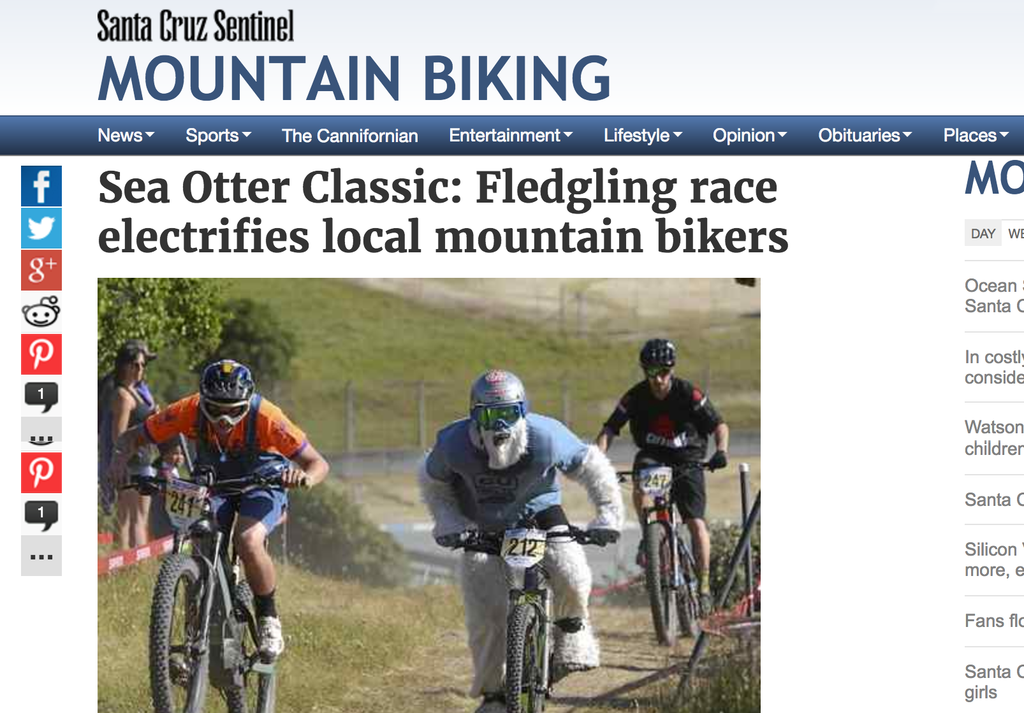 Sea Otter Classic 2017 welcomes electric bikes again