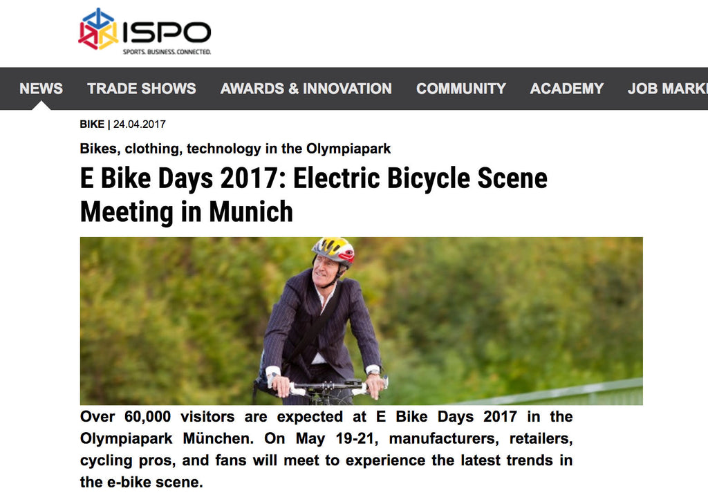 Munich hosts electric bike show