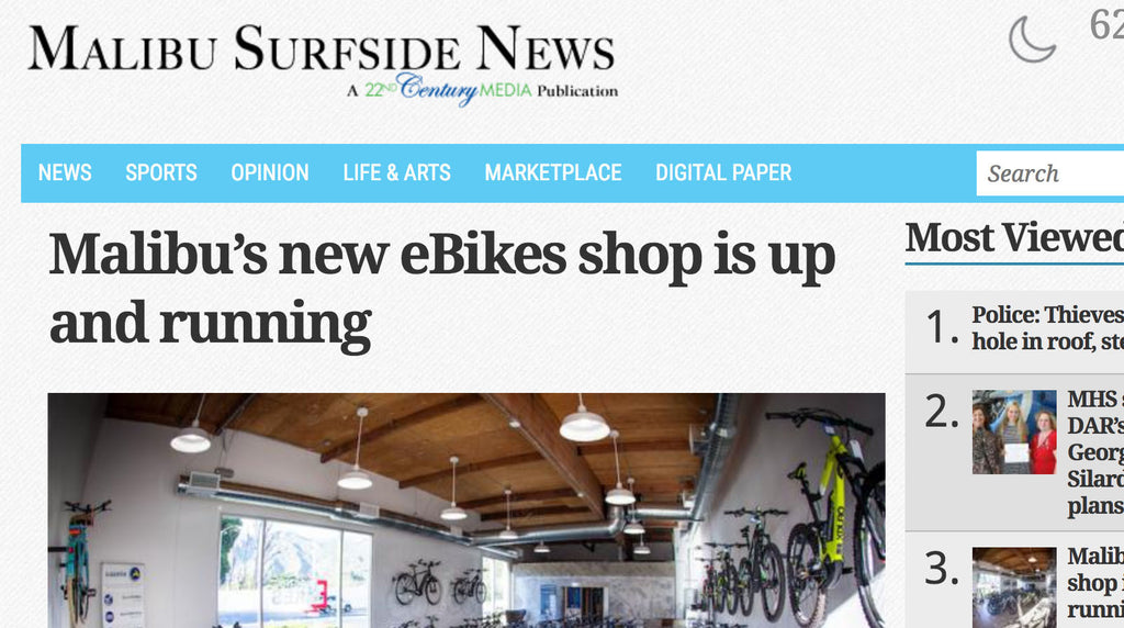 Malibu gets a lovely big new electric bike shop