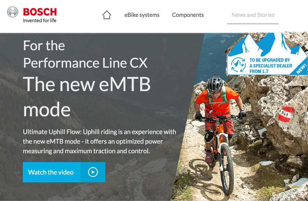 Bosch offer up July eMTB software upgrade