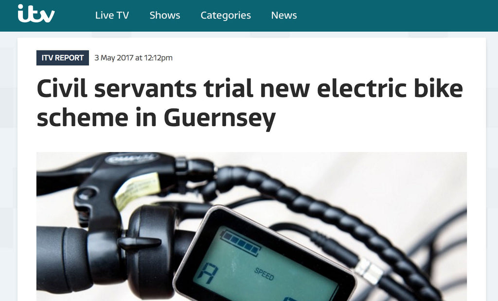 Civil servants trial new electric bike scheme in Guernsey