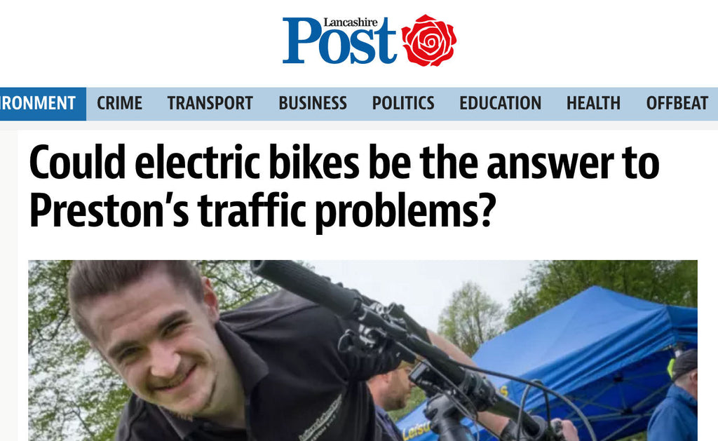 Preston has the electric bike bug