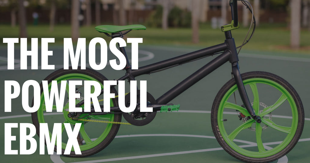 Fancy an electric BMX bike?