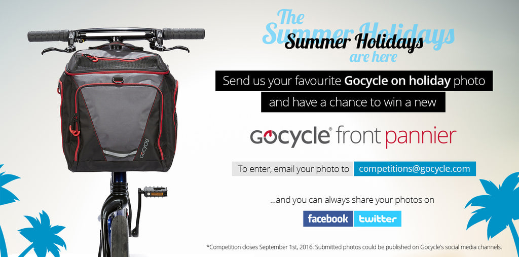 Gocycle offer summer competition