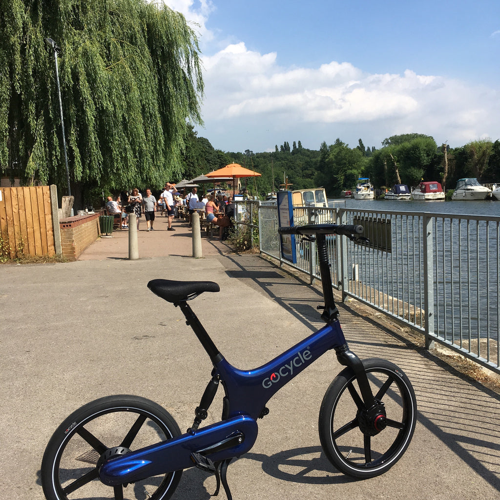 Gocycle G3 at Electric Bikes Kent
