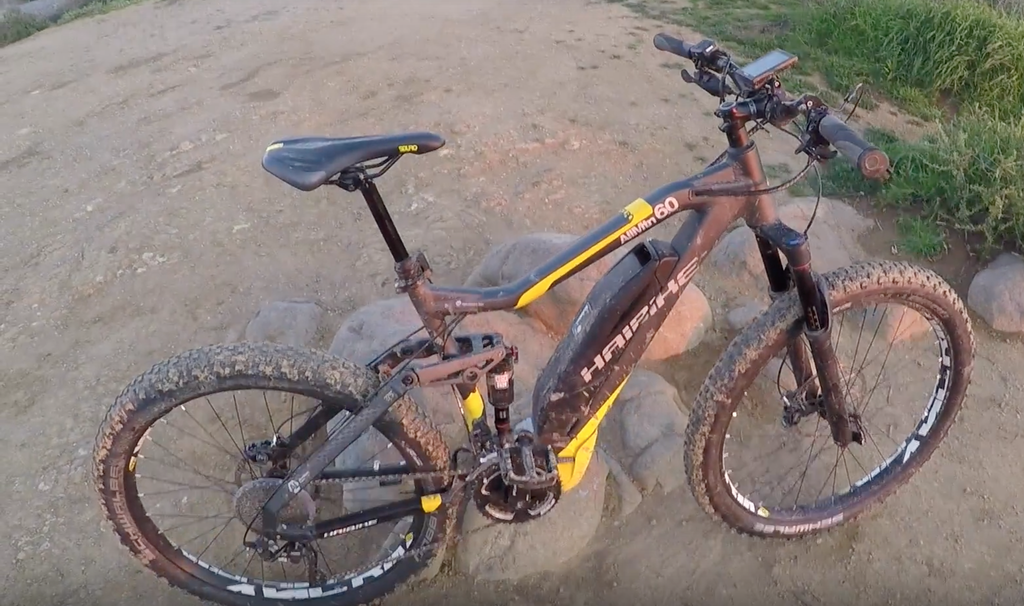 Haibike SDURO AllMtn 6.0 video from Electric Bike Review