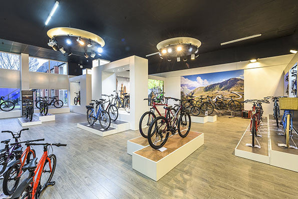 Raleigh unveils new-look Bike showroom