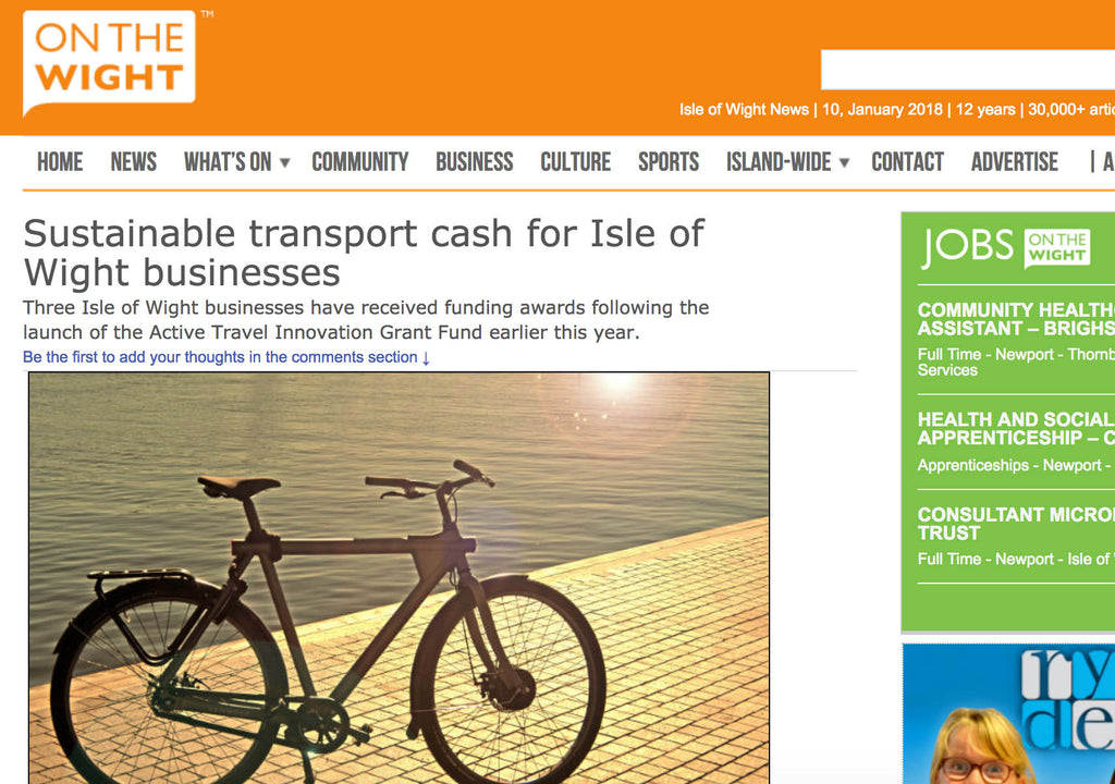 Sustainable transport cash for Isle of Wight businesses