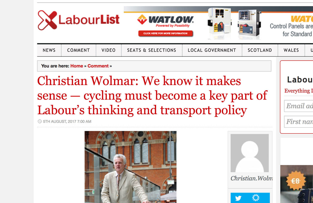 We know it makes sense - cycling must become a key part of Labour's thinking and transport policy
