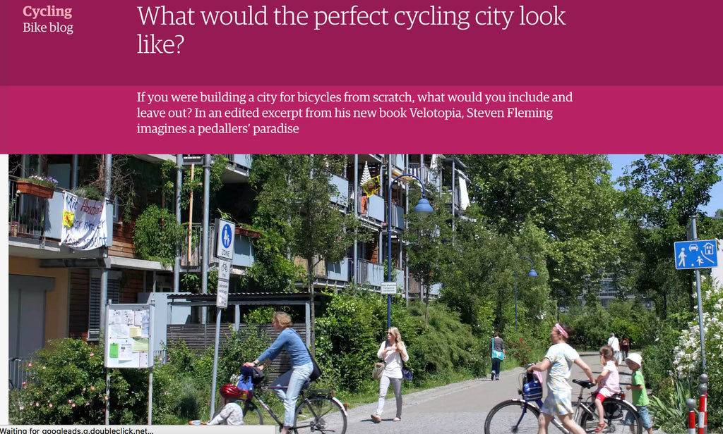 What would the perfect cycling city look like?