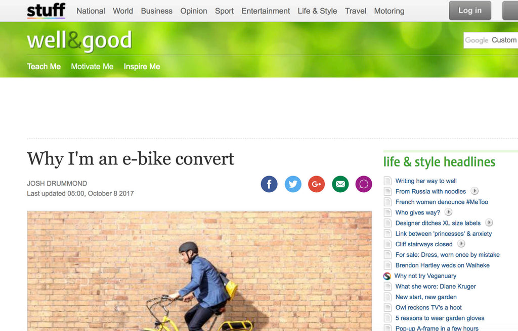 Why I'm an e-bike convert