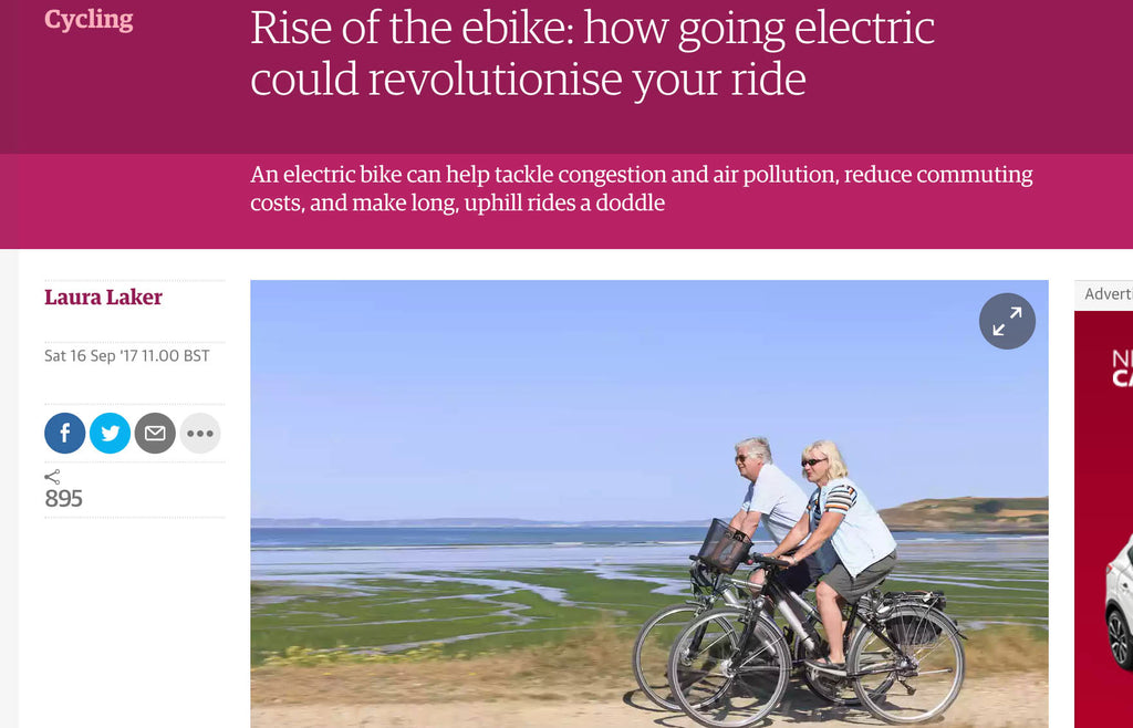 Rise of the ebike: how going electric could revolutionise your ride
