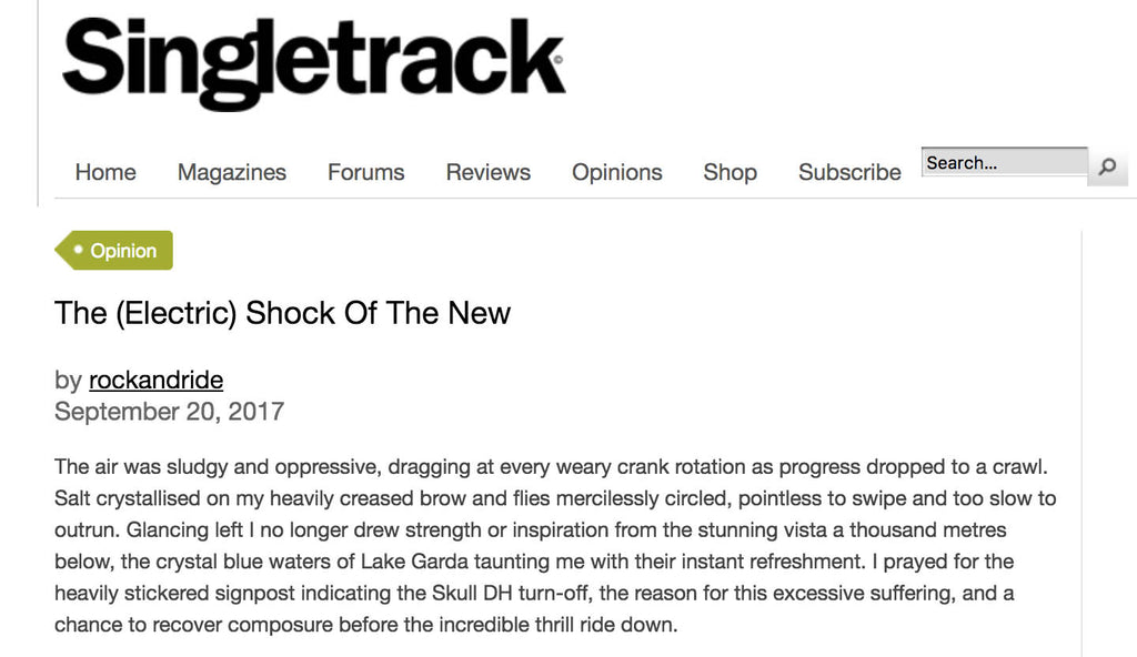 The (Electric) Shock Of The New