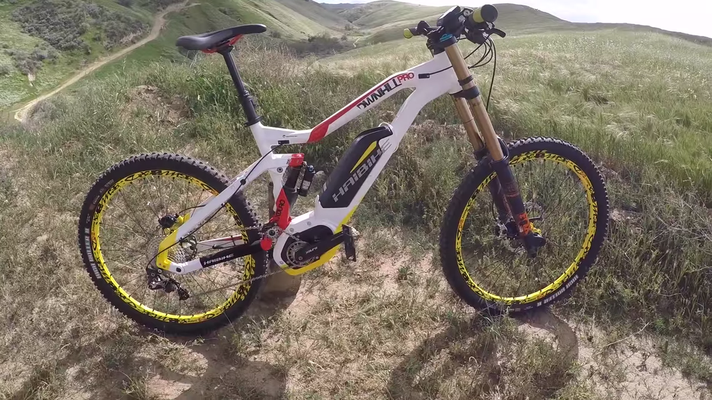Haibike XDURO DwnHll Pro 27.5 (2016) electric bike video review
