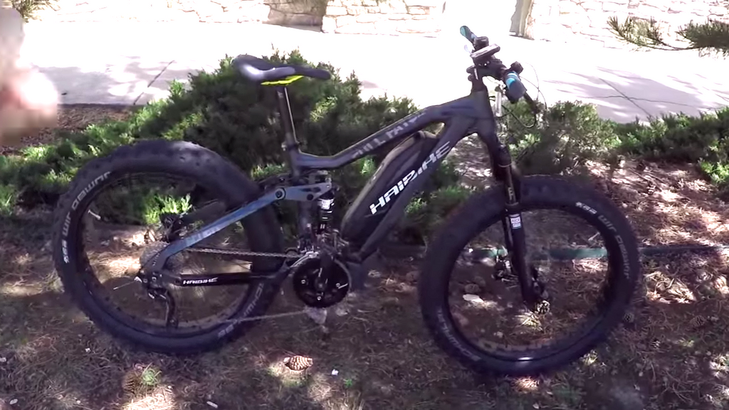 Haibike SDURO Full FatSix (2016) electric bike video review
