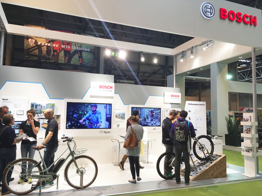 Seen at the Cycle Show 2016 - 05 - Bosch electric bike systems