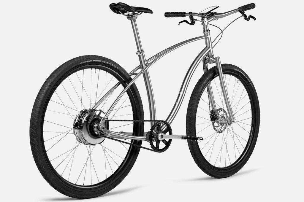 An American single-speed electric bike