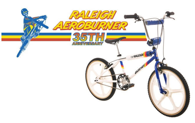 Raleigh BMX Burner 35th Anniversary edition