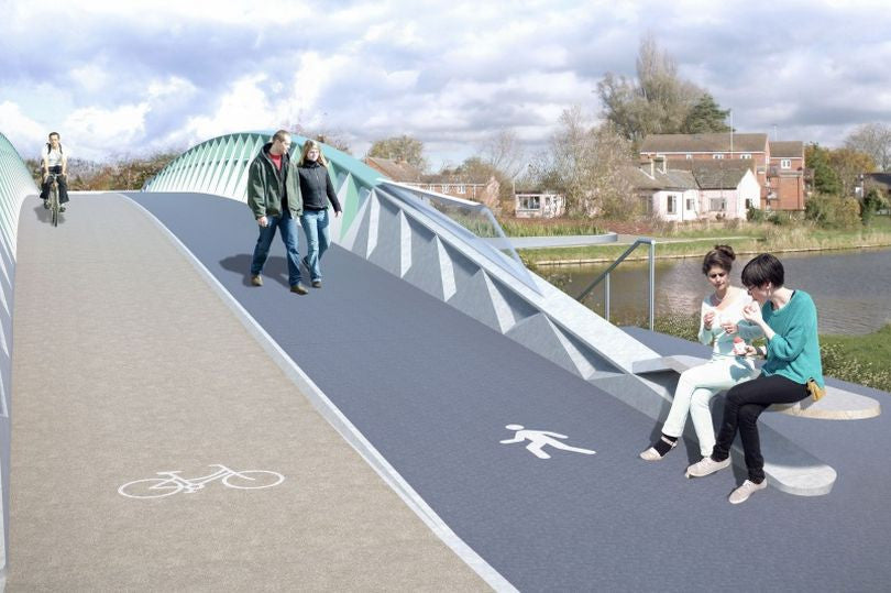 Electric bike commuters to benefit from new bridge proposal