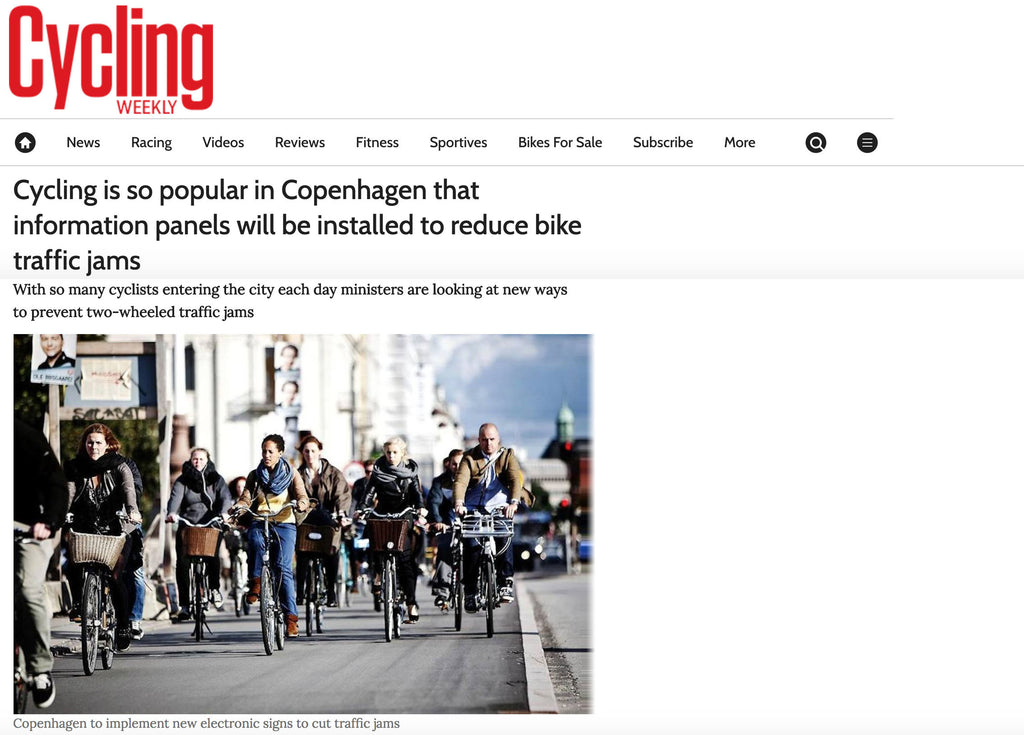 Copenhagen cyclists now needs dedicated information displays