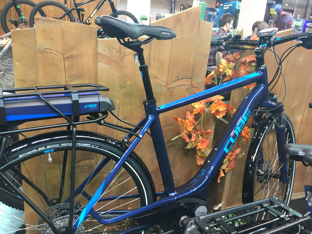 Seen at the Cycle Show 2016 - 07 - Cube electric bikes