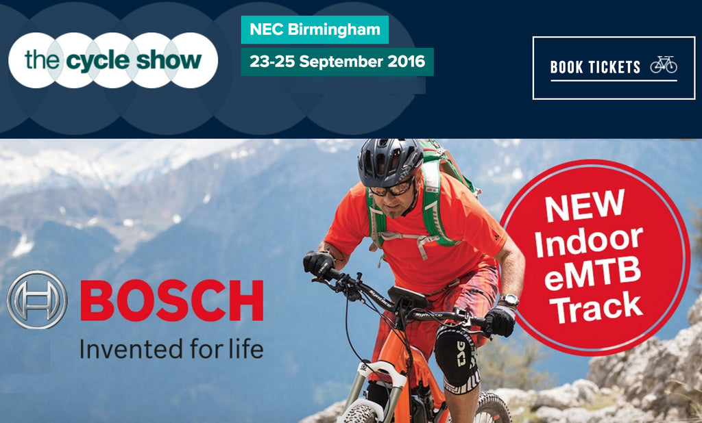 Ride electric bikes at the NEC Cycle Show 2016