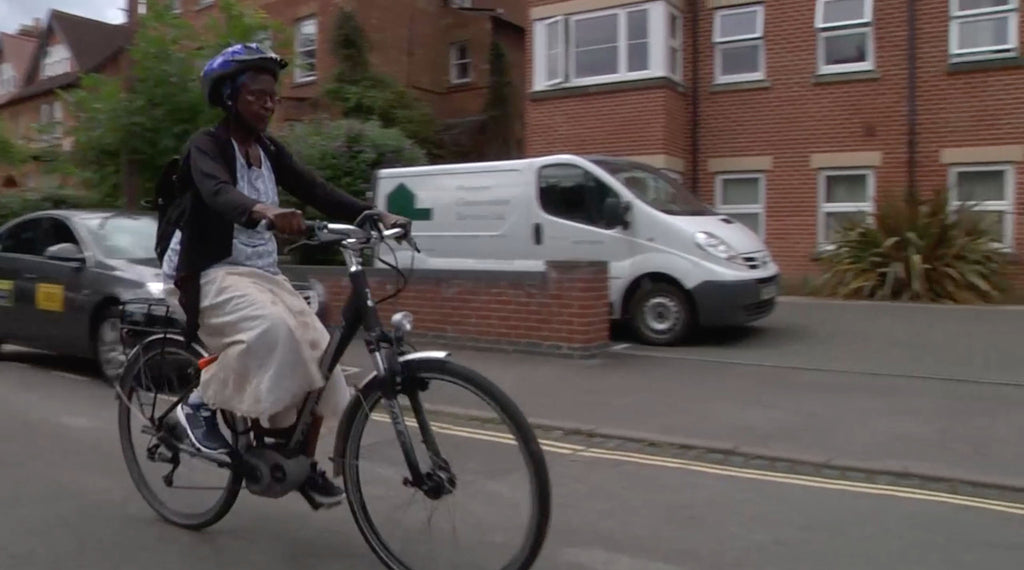Cycle BOOM participant Deborah Ajulu video