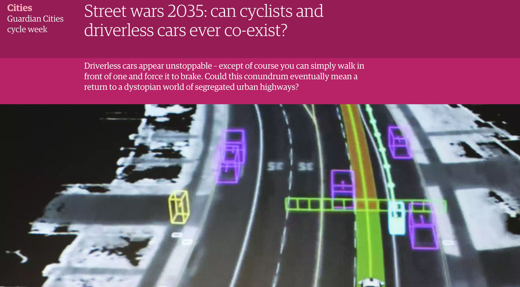 Could driverless cars be the way we get better cycling infrastructure?