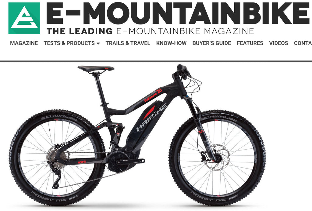 And the most popular eMTB is... (starts with an H, and ends with an aibike!)