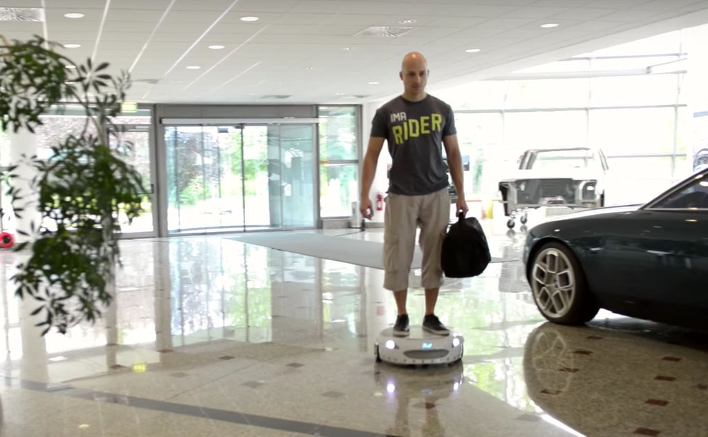Ford launch Segway-like electric pedestrian board, the Carr-E