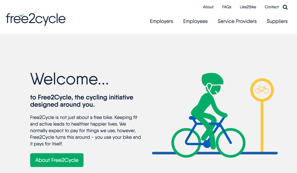 Free2Cycle scheme offers incentives for riding to work