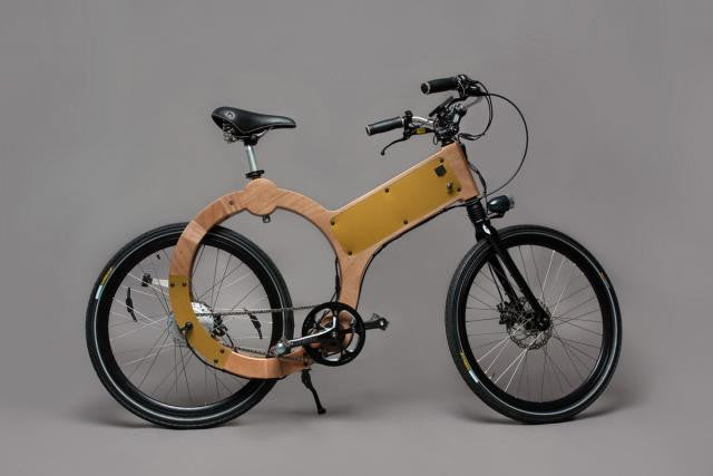 Wood you consider an even-more eco-friendly electric bike?