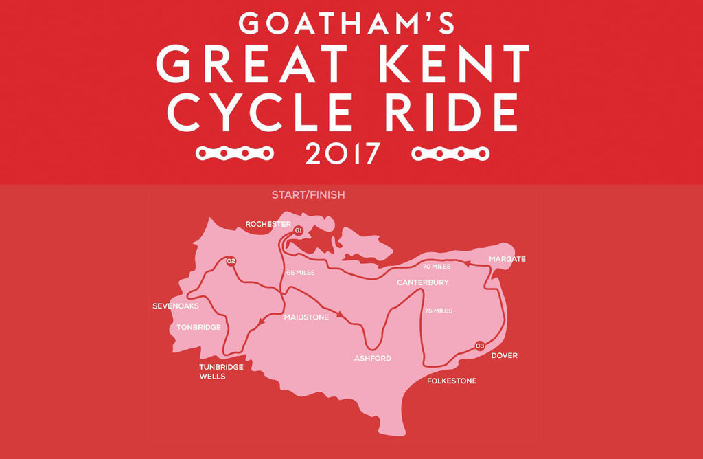 Goatham's Great Kent Cycle Ride 2017