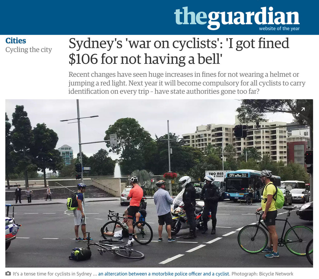 Australia declares financial war on the cyclist