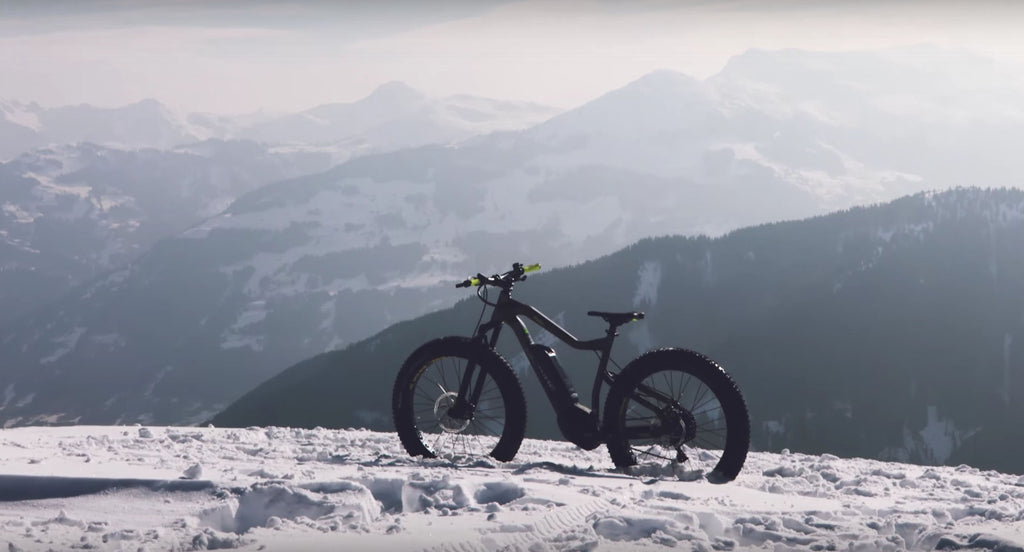 Haibike takes to the slopes