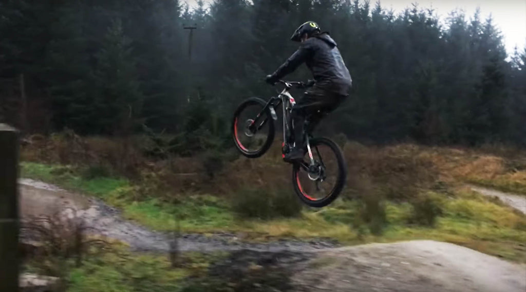 Top Enduro racer Paul Bolton loves his Haibike XDURO AllMtn