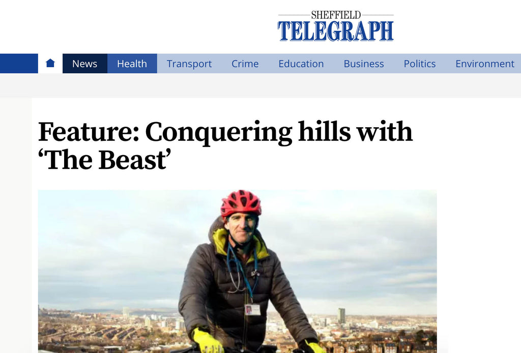 Conquering hills with 'The Beast'