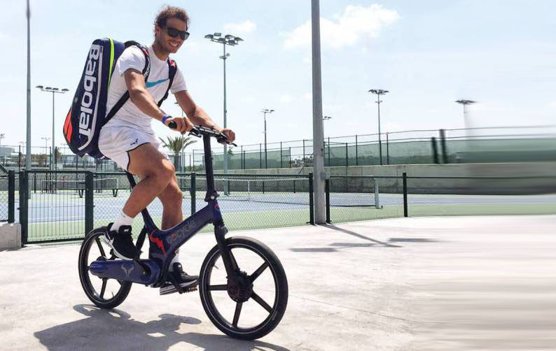Ronaldo and Nadal love the Gocycle electric bike
